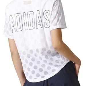 Adidas Burnout Polka Dot Jersey Tee